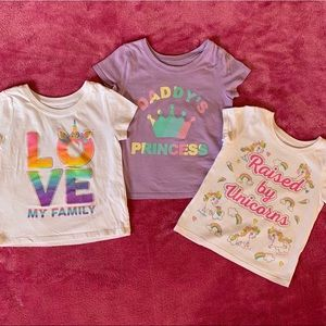 The children's place • Toddler girl T-shirt